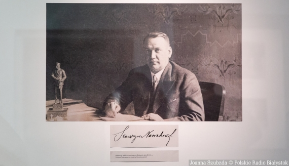 """Wystawa """"Seweryn Nowakowski - zaginiony prezydent Białegostoku"""" w CLZ, fot. Joanna Szubzda"""