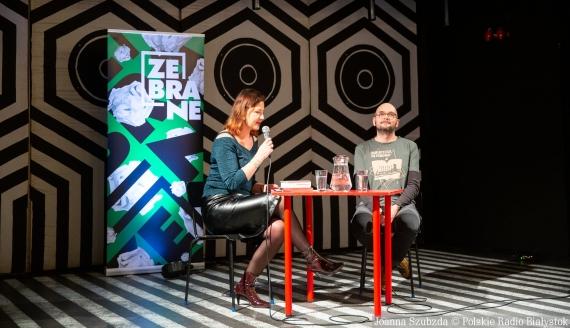 Spotkanie z Filipem Springerem, Festiwal Literacki Zebrane, fot. Joanna Szubzda