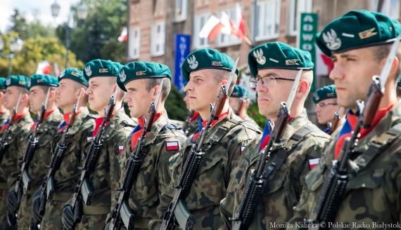 Święto Wojska Polskiego w Białymstoku, fot. Monika Kalicka