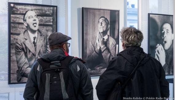 """Wystawa """"Witkacego Portret Wielokrotny 2021"""", fot. Monika Kalicka"""