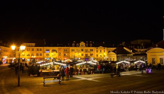 Jarmark Świąteczny przed Ratuszem, fot. Monika Kalicka
