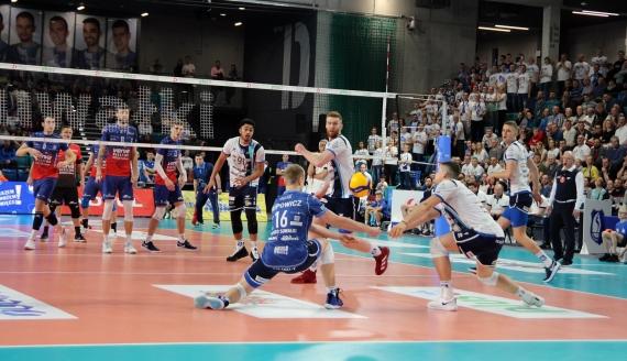 Ślepsk Malow Suwałki - VERVA Warszawa 0:3, fot. Marcin Mazewski