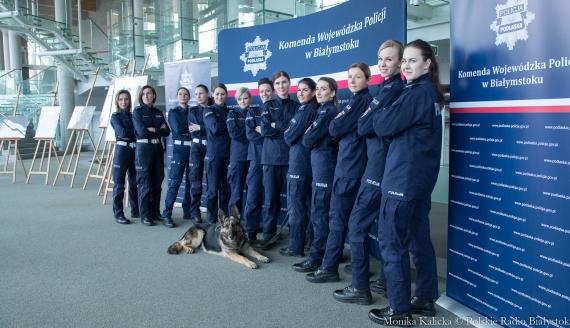 95-lecie kobiet w Policji Polskiej, fot. Monika Kalicka