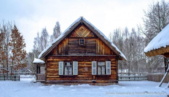 Zima w Podlaskim Muzeum Kultury Ludowej, fot. Sylwia Krassowska