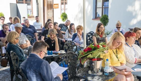 Warsztaty reportażu radiowego w Tykocinie, fot. Kamil Kalicki