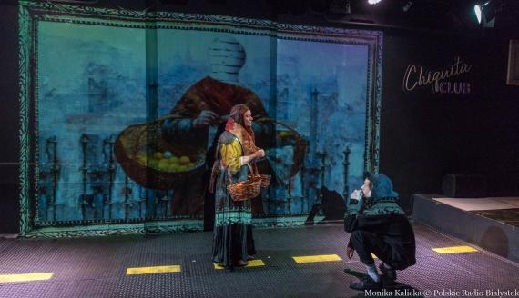 "Próba medialna spektaklu ""GALLERY OF MODERN heART"" Teatru Papahema, fot. Monika Kalicka"