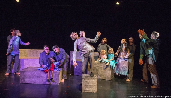 """""""Momo"""" - spektakl dyplomowy w Teatrze Szkolnym, fot. Monika Kalicka"""