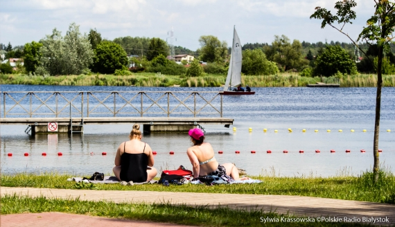 Rozpoczął się sezon w Ośrodku Sportów Wodnych Dojlidy w Białymstoku, fot. Sylwia Krassowska