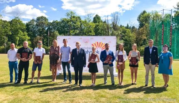 Białystok: Uroczyste wręczenie nagród sportowych za wysokie wyniki uzyskane w 2019 roku, fot. Sylwia Krassowska