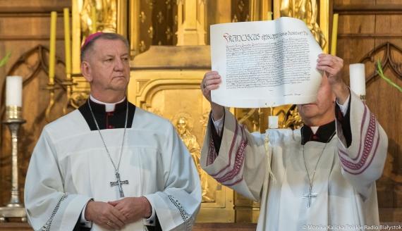 Abp Józef Guzdek obejmuje archidiecezję białostocką, fot. Monika Kalicka