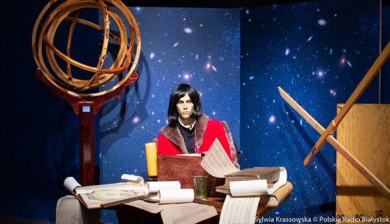 """Wystawa w Muzeum Podlaskim w Białymstoku """"Mikołaj Kopernik. Opowieść o życiu i dziele"""", fot. Sylwia Krassowska"""