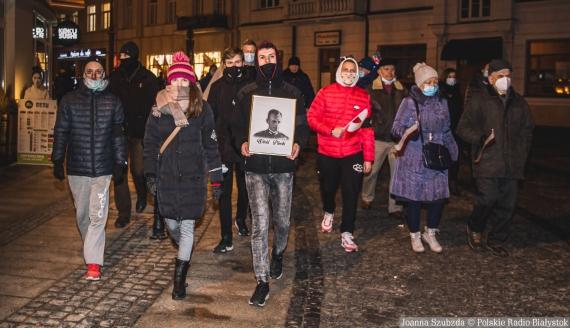 Białostocki Spacer Pamięci Żołnierzy Wyklętych, fot. Joanna Szubzda