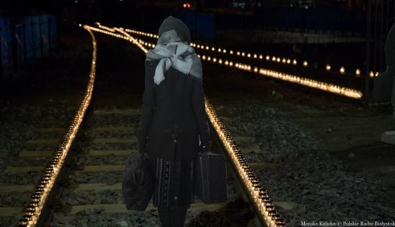 Światło pamięci w 80. rocznicę pierwszej wywózki na Sybir, fot. Monika Kalicka