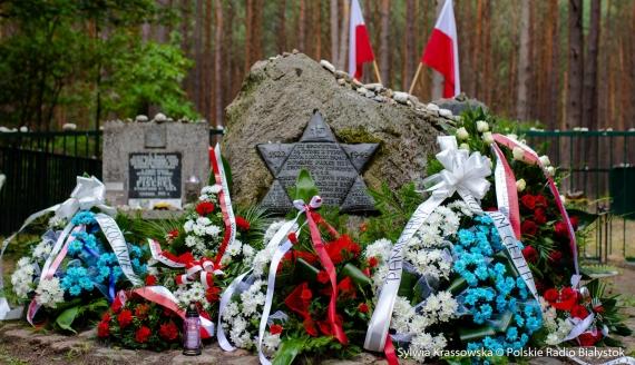 79. rocznica zagłady tykocińskich Żydów, fot. Sylwia Krassowska