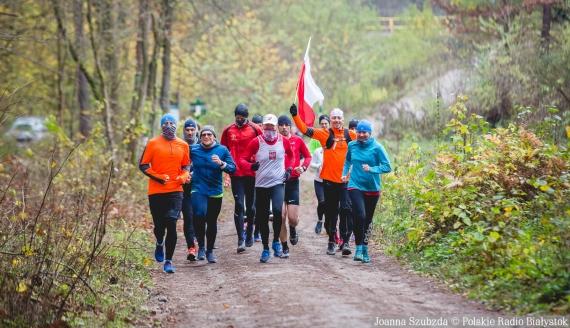 Święto Niepodległości na sportowo, 11.11.2020, fot. Joanna Szubzda