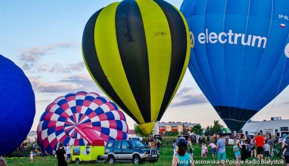 III Fiesta Balonowa w Białymstoku, fot. Sylwia Krassowska