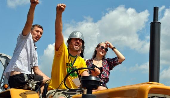 Traktoriada - Podlaskie Wyścigi Traktorów w Pentowie, fot. Adam Janczewski