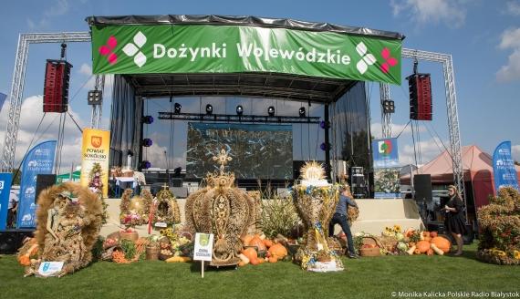 Dożynki Wojewódzkie w Dąbrowie Białostockiej, fot. Monika Kalicka