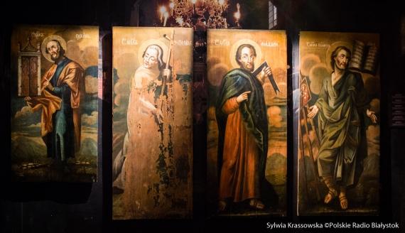 Ikony-relikty na nowej wystawie Muzeum Ikon w Supraślu, fot. Sylwia Krassowska
