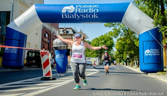 Bieg na 5 km ulicami Białegostoku, fot. Sylwia Krassowska