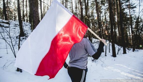 1. Bieg Pamięci Sybiru w Białymstoku, fot. Joanna Szubzda