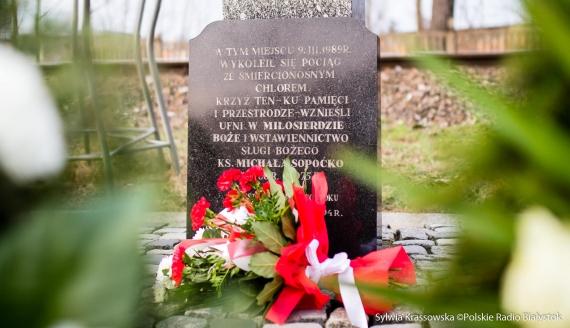 31. rocznica ocalenia Białegostoku po katastrofie pociągu przewożącego chlor, fot. Sylwia Krassowska