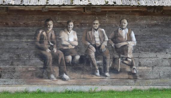 Malowidła w Sitawce, fot. Marcin Gliński