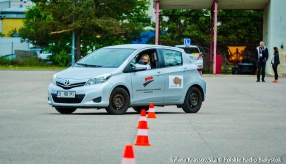 Weekend bezpiecznej jazdy w białostockim WORD-zie, fot. Sylwia Krassowska