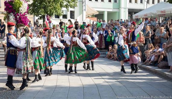 Podlaska Oktawa Kultur 2019 - parada zespołów, fot. Monika Kalicka