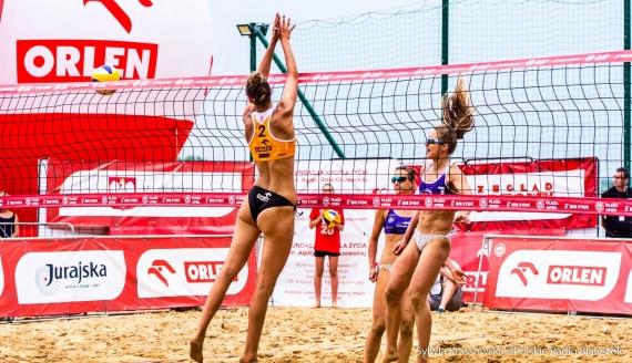Finał turnieju siatkówki plażowej Plaża Open 2020 w Białymstoku, fot. Sylwia Krassowska