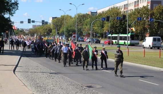 19. Międzynarodowy Marsz Pamięci Zesłańców Sybiru - Białystok 6.09.2019, fot. Marcin Mazewski