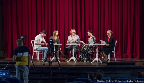 Białostoccy aktorzy czytają dramat Dmitrija Bogosławskiego na znak solidarności z Białorusią, fot. Monika Kalicka