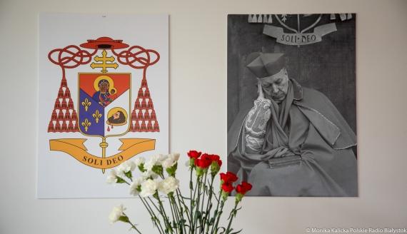 """Wystawa """"Prymas Tysiąclecia w Białymstoku"""" w Archiwum i Muzeum Archidiecezjalnym, fot. Monika Kalicka"""
