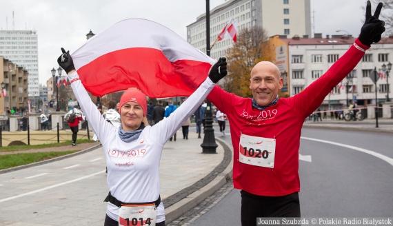 Biegnę dla Niepodległej w Białymstoku, fot. Joanna Szubzda