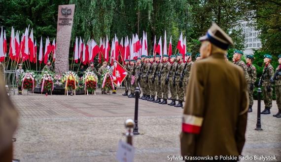 77. rocznica wybuchu Powstania Warszawskiego w Białymstoku, fot. Sylwia Krassowska