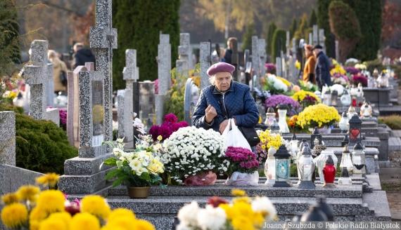 Dzień Wszystkich Świętych, fot. Joanna Szubzda