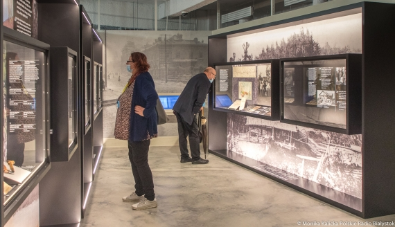 Pierwszy dzień zwiedzania Muzeum Pamięci Sybiru, fot. Monika Kalicka