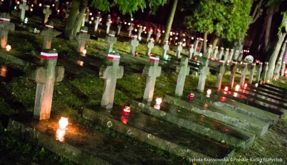 Światło Pamięci Niezwyciężonym w dekadę 100-lecia Niepodległości, fot. Sylwia Krassowska