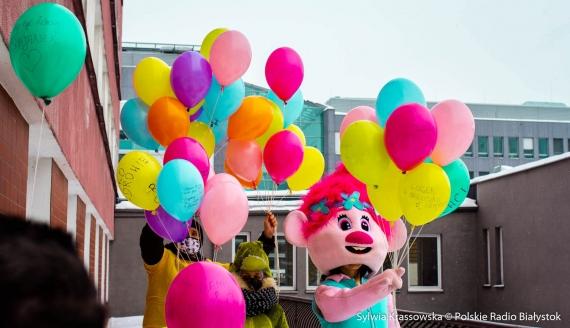 Dzień Dziecka z chorobą nowotworową w UDSK w Białymstoku, fot. Sylwia Krassowska
