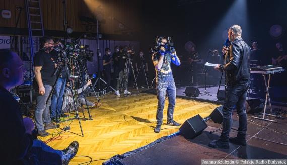 Finał plebiscytu Niebieski Mikrofon Polskiego Radia Białystok - backstage