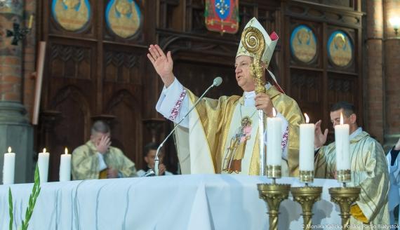 Ingres abp. Józefa Guzdka do Archidiecezji Białostockiej, fot. Monika Kalicka
