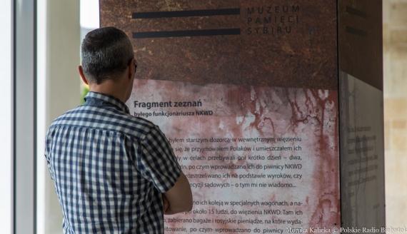"""Otwarcie wystawy """"Katyń #Pamiętamy"""" w kościele pw. św. Kazimierza Królewicza, fot. Monika Kalicka"""