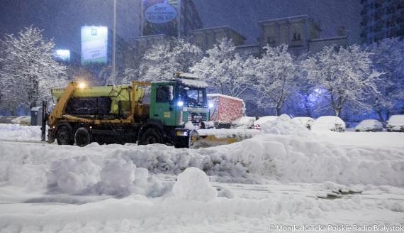 Poranek w Białymstoku 26 stycznia 2021 r., fot. Monika Kalicka