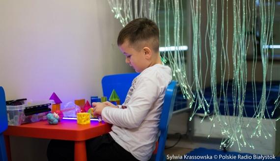 Sala doświadczania świata w PPPP w Białymstoku. fot. Sylwia Krassowska