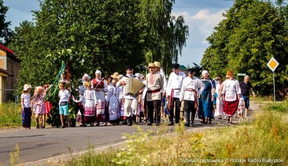 Obrzęd Kusta w Siemianówce, fot. Sylwia Krassowska