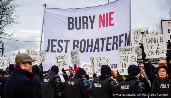 V Hajnowski Marsz Pamięci Żołnierzy Wyklętych, fot. Sylwia Krassowska
