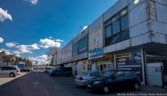 Targowisko miejskie przy ul. Kawaleryjskiej, fot. Monika Kalicka