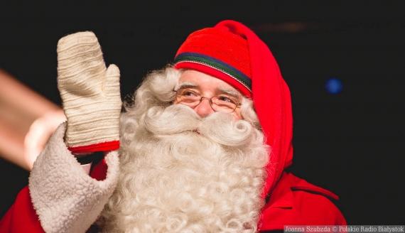 Mikołaj z Rovaniemi w Białymstoku, fot. Joanna Szubzda