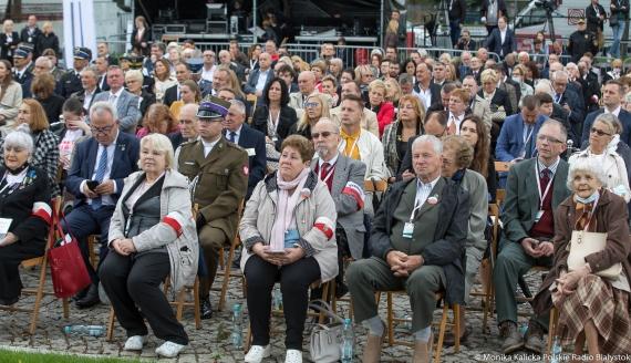 Oficjalne otwarcie Muzeum Pamięci Sybiru w Białymstoku, fot. Monika Kalicka