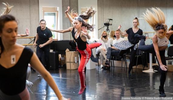 Casting do West Side Story w OiFP, fot. Joanna Szubzda